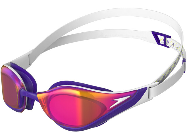 Comparable Sospechar desnudo  speedo Fastskin Pure Focus Mirror Swimglasses white/violet/gold shadow at  bikester.co.uk